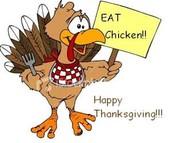Thanksgiving Break- No School