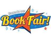 Book Fair is open to parents on Wednesday!