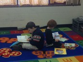 Reader's Workshop in Mrs. Liefer's Room