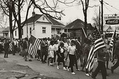 March from Selma to Montgomery, Alabama