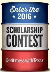 Don't mess with Texas Scholarship Contest