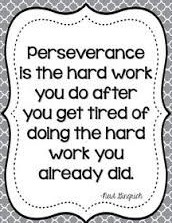 How is perseverance defined?