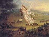 Manifest Destiny is a term for the attitude prevalent during the 19th century period of American expansion that the United States not only could, but was destined to, stretch from coast to coast. It also helped the Native Americans