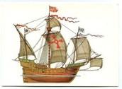 his ship