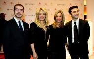 Shakira's Agent(Left) & Parents(Right)
