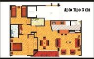 Apartamento tipo 3 opcion 2