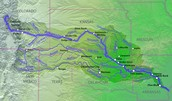 This is how long is the Arkansas River