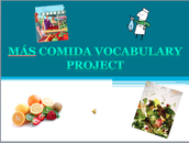 Vocabulary and Grammar Project