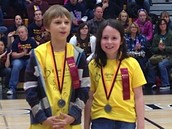 Andy and Rebecca: Medalists in Starry, Starry Night