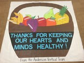 Thanks Ms. Swingle & Mr. C for creating our vertical team's trustee appreciation poster!