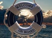 Bienvenidos a bordo equipo!