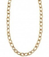 Christina Link Necklace-Gold