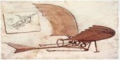 Leonardo's Design of an Airplane