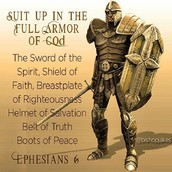 Suit Up in the Full Armor of God
