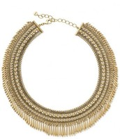 Tansy Fringe Collar Necklace