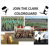 Clark High School Color Guard Clinics
