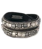 Cady Wrap Bracelet Black