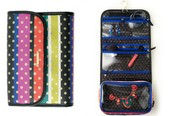 Crazy Stripe Hang On Travel Organizer