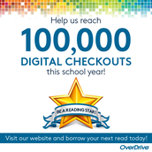 OverDrive 100,000 Checkouts!