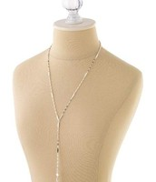 Bianca Lariat Necklace Sterling Silver