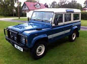 1984 LAND ROVER DEFENDER 110 V8 CSW