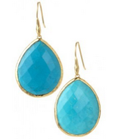 SOLD Serenity Stone Drops Turquoise $25