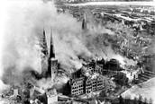 Bombed German City