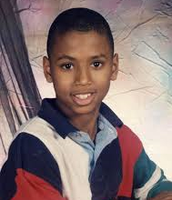 Trey Songz as a teenager