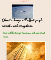 How will Climate Change affect people