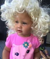 Aubrey Monroe!  Dressing in play costumes