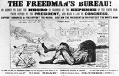 Freedman's Bureau Political Cartoon
