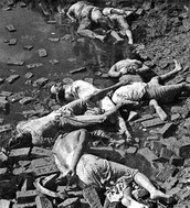 Dead bodies of the Bangladesh War