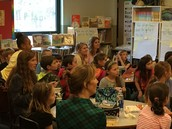 Thank you to all the teachers that make book club very special.