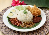 Malay (Traditional) Food:Nasi Lemak