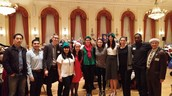 12 Rotaractors Volunteer at the Rotary Club of Toronto's Senior's Christmas Party