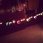 Origami boxes (lights project)