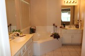Master Bath/with Whirlpool Shower and Walk-in Closet
