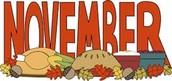 November Menus