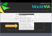 Step 2: Login to MackinVia