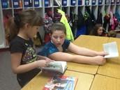 Book Talks with 2nd Grade Buddies