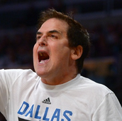 Him helping coach the Mavericks