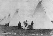 kiowa tepee