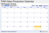 online video schedule