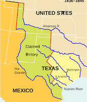 1836 Texas Independence is established