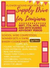 Supply Drive for Louisiana