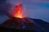 The Cinder Cone Volcano