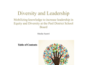 Diversity and Leadership Paper
