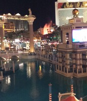 View from our hotel!