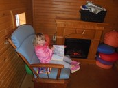 Reading in the Cabin