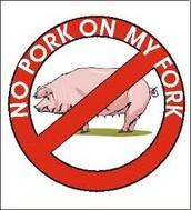 Jews don't eat pork.